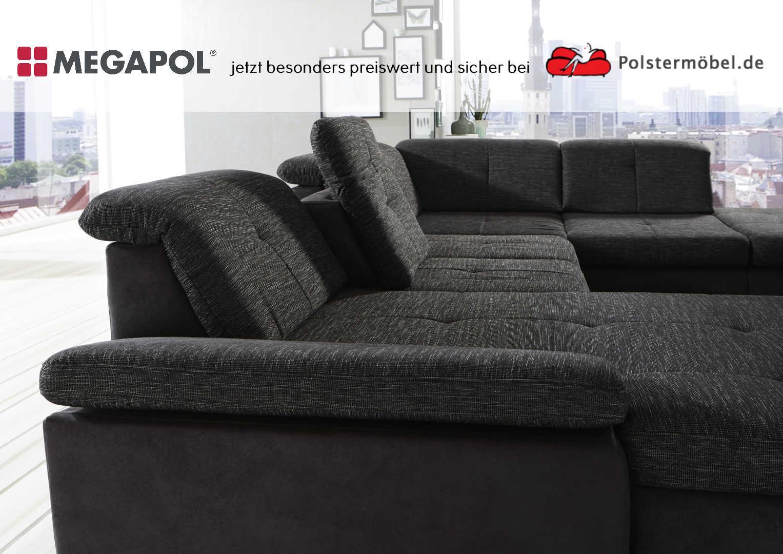 Ansicht Sofa Megapol Artus Element mit Sitztiefenverstellung