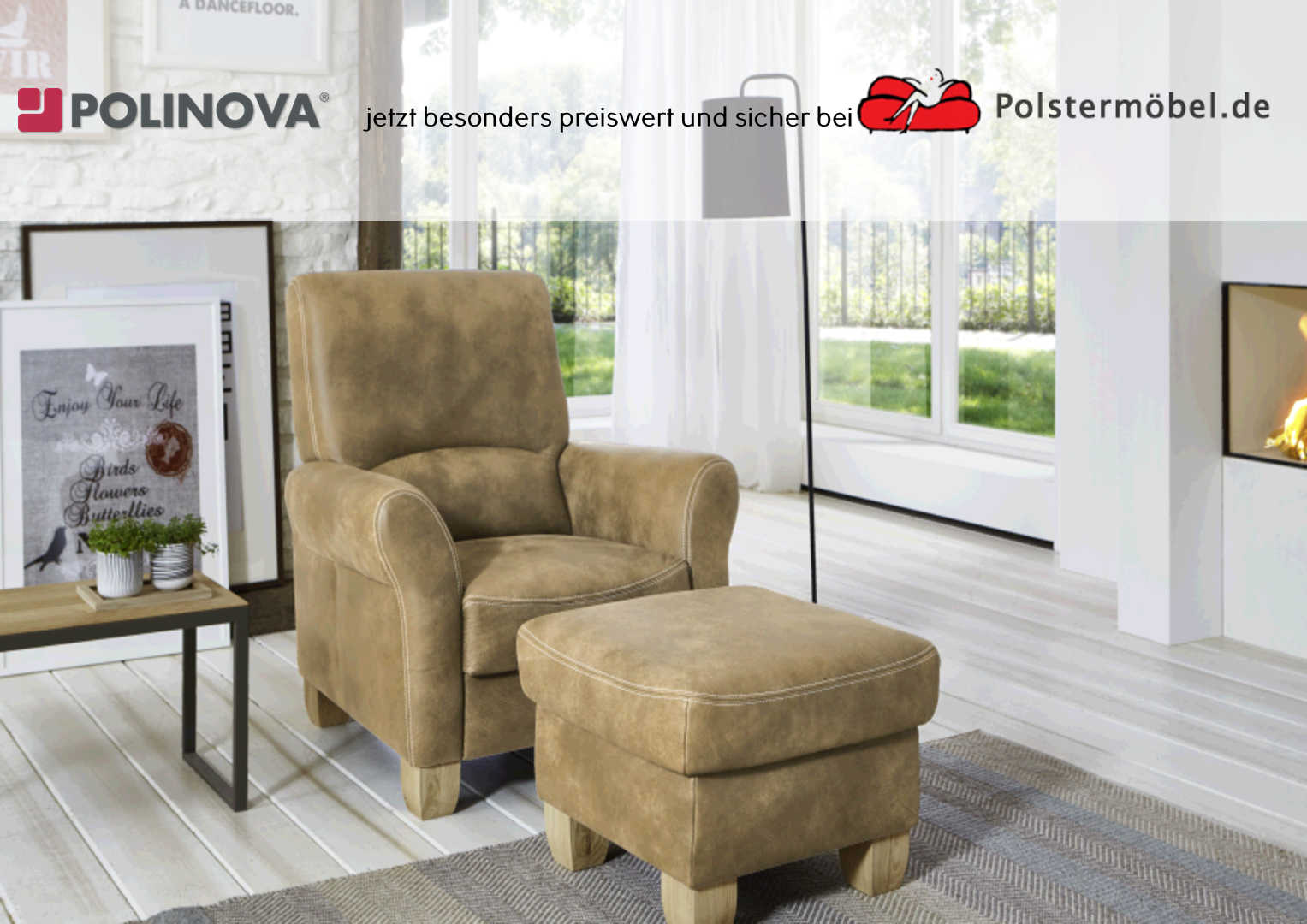 polinova landart sessel l polsterm. Black Bedroom Furniture Sets. Home Design Ideas