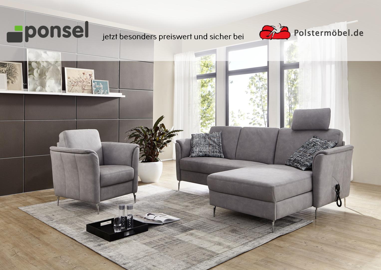 ponsel leder venturo l 896 pisa leder polsterm. Black Bedroom Furniture Sets. Home Design Ideas