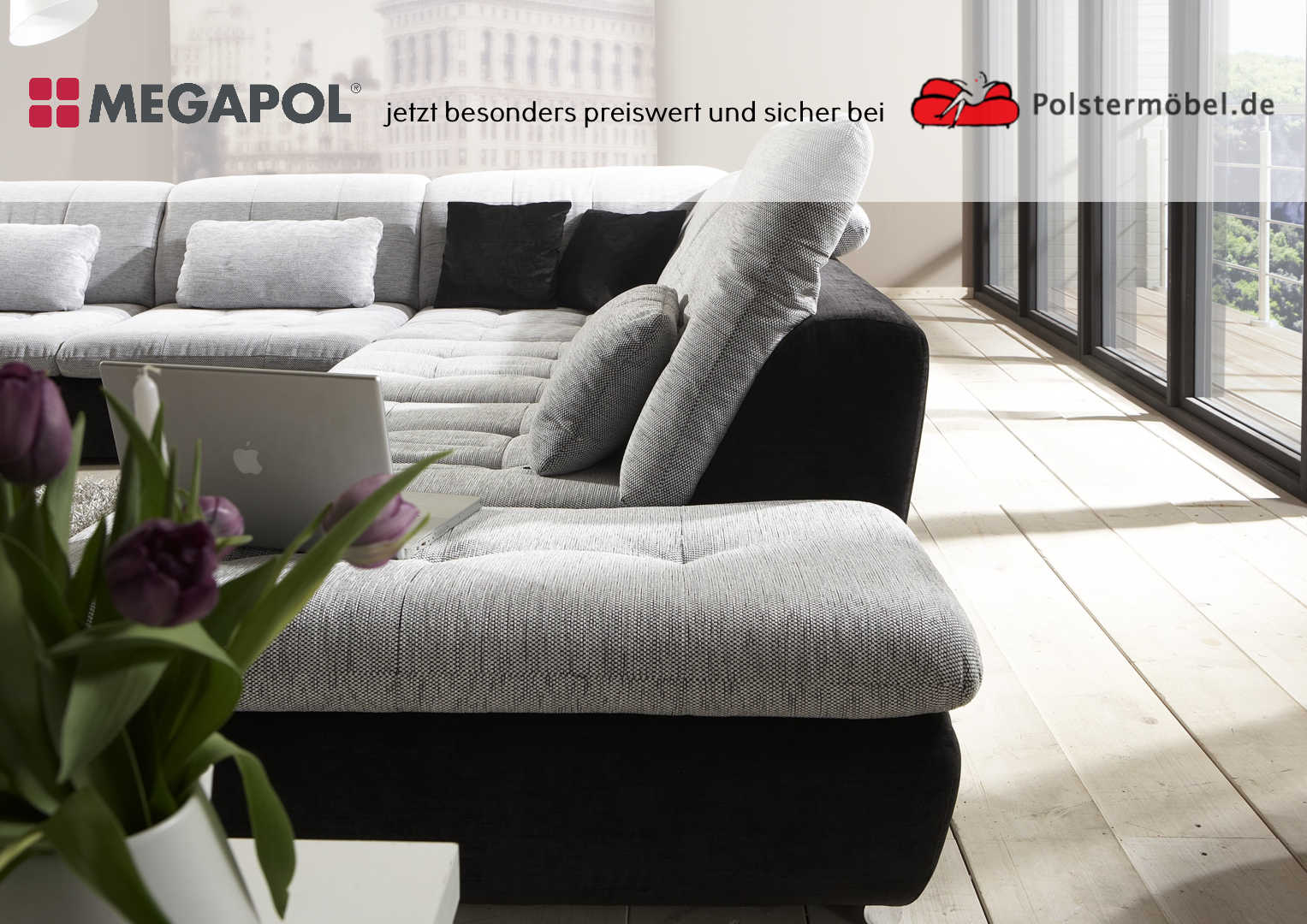 megapol sofa fabulous megapol u die junge mbelmarke mit tollen funktionen und modernem design. Black Bedroom Furniture Sets. Home Design Ideas