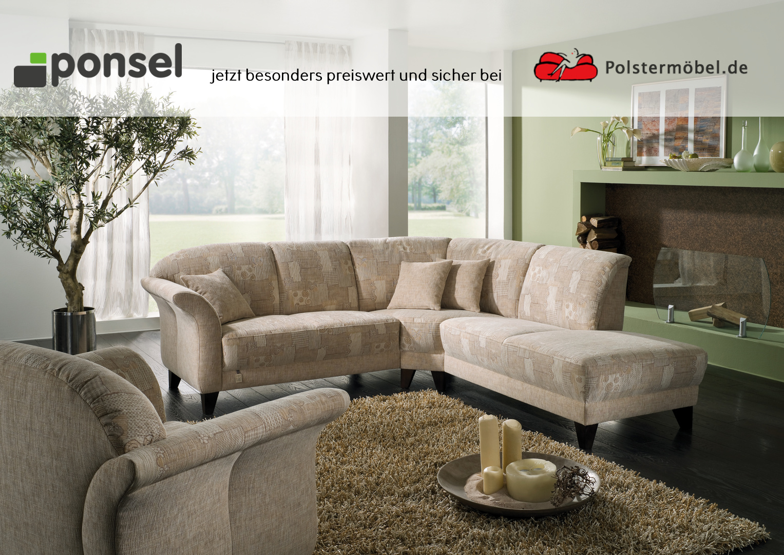 ponsel leder chalet l 345 celano polsterm. Black Bedroom Furniture Sets. Home Design Ideas