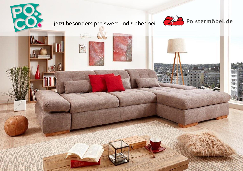 poco santa fe ls 545017 polsterm. Black Bedroom Furniture Sets. Home Design Ideas