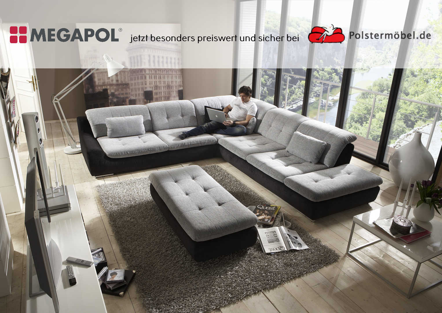 megapol spike polsterm. Black Bedroom Furniture Sets. Home Design Ideas